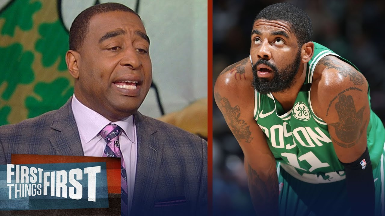 Cris Carter on the Boston Celtics trying to trade Kyrie Irving for Kawhi | NBA | FIRST THINGS FIRST