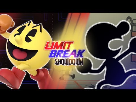 Pac-Man VS Mr. Game And Watch (NAMCO VS Nintendo) | Limit Break: Showdown