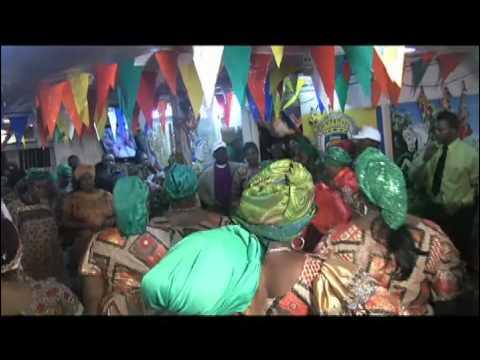 Petwo-Kongo rite: Salutation of Agawou Wedo (Video 26)