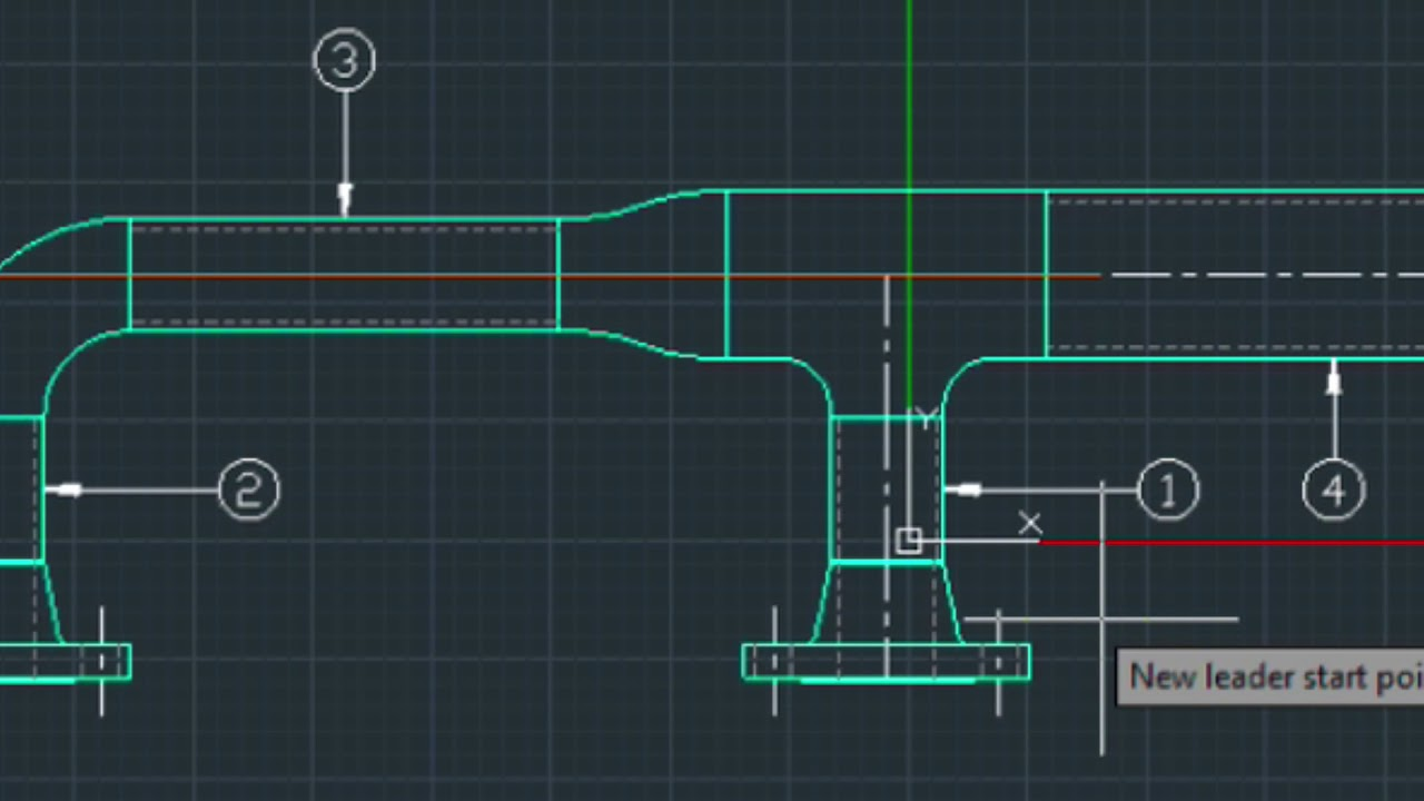 drawing 2d piping elevation creating a bill of materials bom  [ 1280 x 720 Pixel ]
