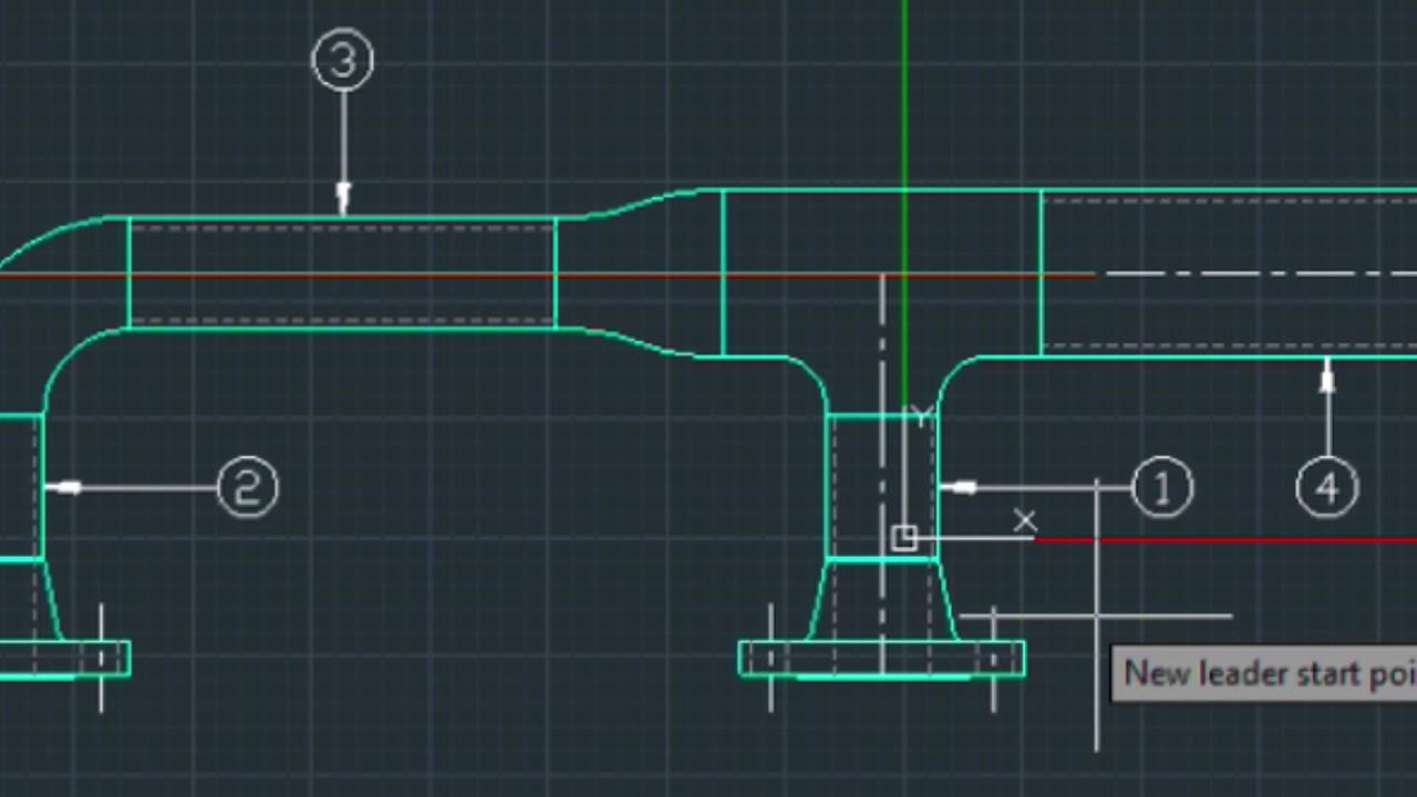 Drawing 2D Piping Elevation + Creating a Bill Of Materials (BOM)