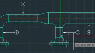 Drawing 2D Piping Elevation + Creating a Bill Of Materials (BOM)