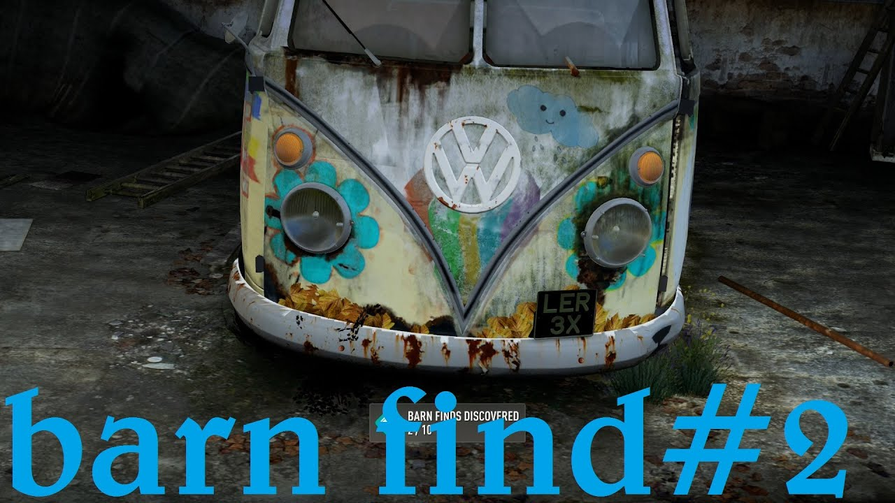 Forza Horizon 2 Barn Find Montellino #2 - YouTube