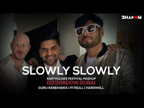Slowly Slowly X Earthquake Festival Mashup | DJ Shadow Dubai | Guru Randhawa | Pitbull | Hardwell