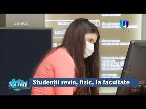 TeleU: Studenții revin, fizic, la facultate