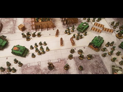 March Giveaway and Warhammer 30k Salamanders 4000 points show case