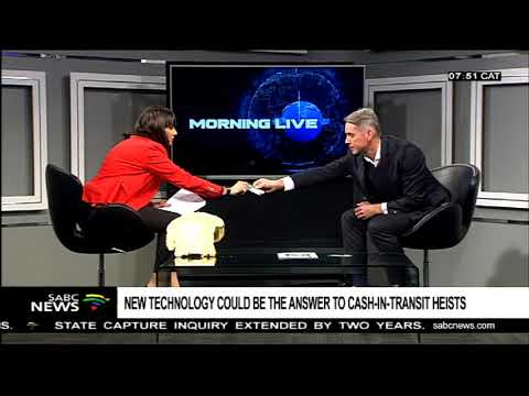 ALLCASH On SABC Morning Live With Leanne Manas - Technologies To Curb Cash In Transit Heists