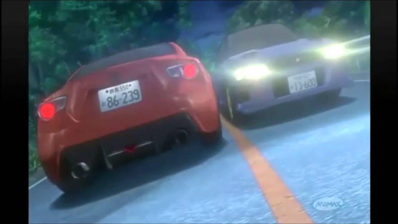 Initial D Subaru Impreza