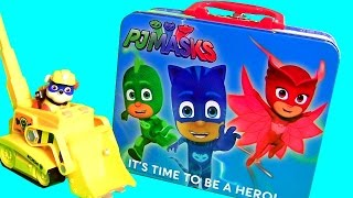 Disney PJ Masks Toys Lunchbox Toy Surprise with Catboy Owlette Gekko & Nickelodeon Paw Patrol Toys