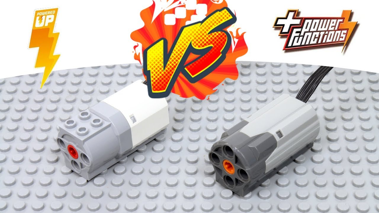 New Lego Ed Up Motor Vs Functions