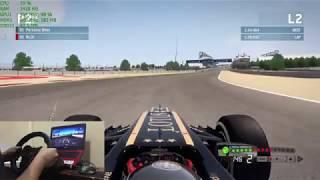 [F1 2013] LOGITECH G29 WHEEL COMPATIBILITY TEST + WHEEL SETTINGS