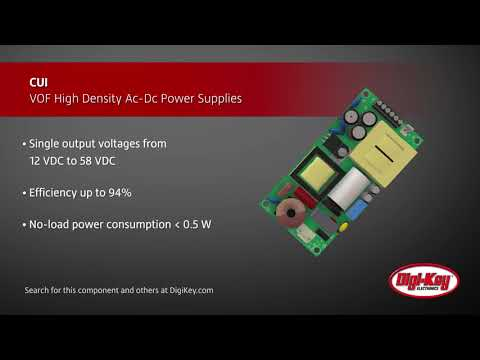 CUI VOF High Density AC-DC   Digi-Key Daily