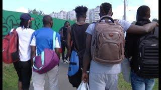 Moins 365 degrés (2/10) - La galère des footballeurs africains en Russie avant le Mondial 2018