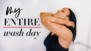 WASH DAY ROUTINES FOR HIGH POROSITY HAIR: A Quarantine Wash Day + TRYING NEW PRODUCTS!