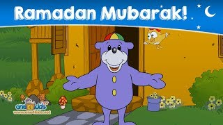 Ramadan Mubarak From Zaky & Friends!
