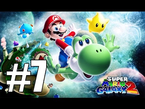 Super Mario Galaxy 2 - Breaking the Laws of Gravity (Rightside Down Galaxy) - Part 7 |