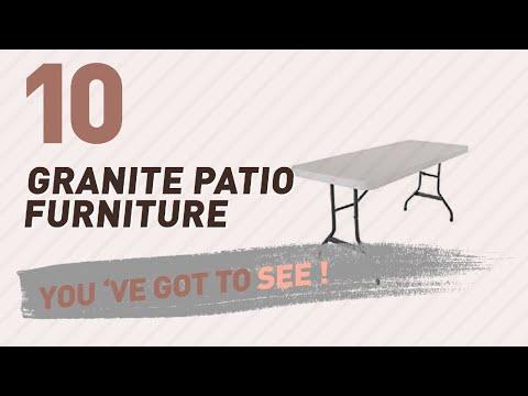 Top 10 Granite Patio Furniture // New & Popular 2017