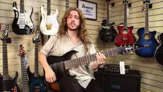 ibanez rg9 bk demonstration with sam bell
