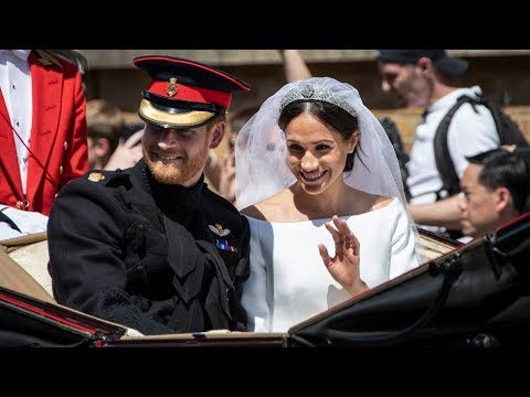 Prince Harry marries Meghan Markle in fairytale wedding at Windsor Castle | ITV News