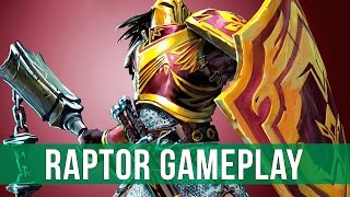 chronicle: RuneScape Legends - The Raptor Gameplay! (Basic Raptor Deck)