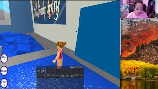 TOO MANY LEOTARDS!! | Roblox | Gymnastics Gymnasium | Gaming with Ellie