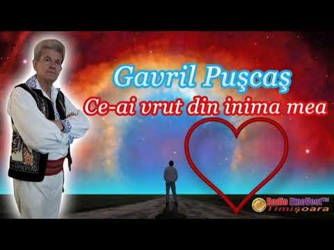 Gavril Puscas - Ce ai vrut din inima mea