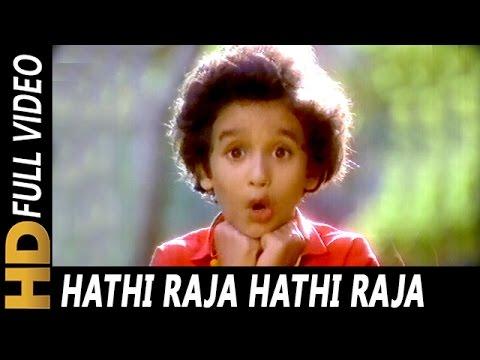 Hathi Raja Hathi Raja Jaldi Se Chalo | Alka Yagnik | Dost 1989 Songs | Mithun Chakraborty, Amla
