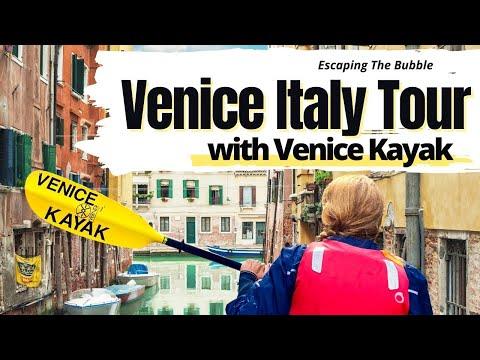 VENICE ITALY TOUR with VENICE KAYAK 🇮🇹😃