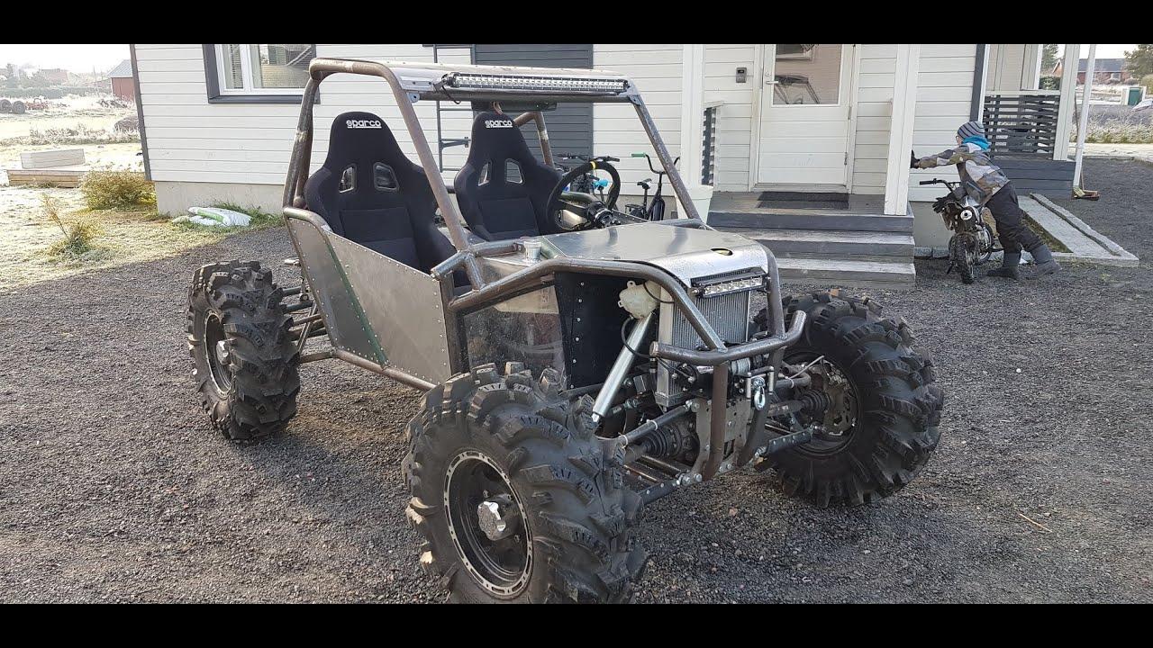 Custom Built Rzr Type 1000cc 4x4 Diy Buggy Project 4wheelsteering