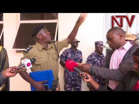 POINT BLANK: Muhammad Kirumira resists his demotion