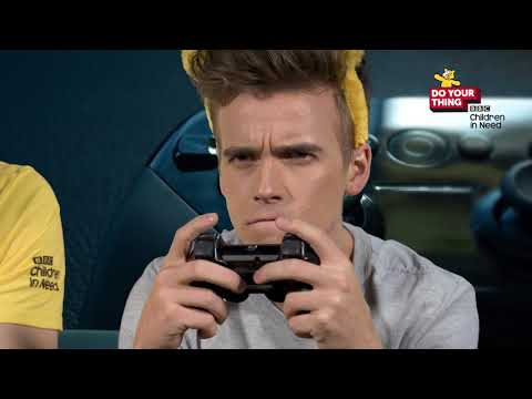 Host a game-a-thon with Jim Chapman and Joe Sugg