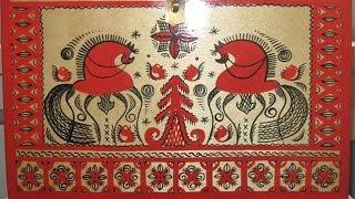 Мезенская роспись (Ремесло Поморов)