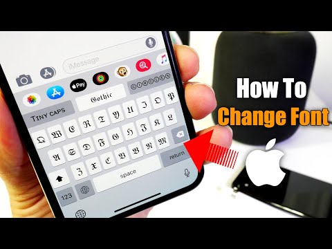 How To Change The Font On IPhone 📲 Really Cool