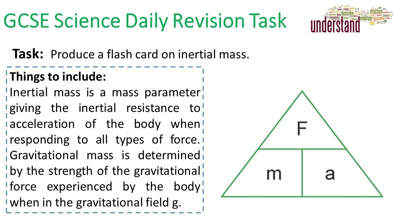 GCSE Science Daily Revision Task 183 - YouTube