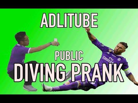 ADLI DIVE PRANK IN PUBLIC!!!