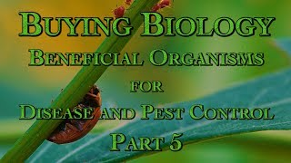 Buying Biology: Beneficial Organisms for Disease and Pest Control Part 5