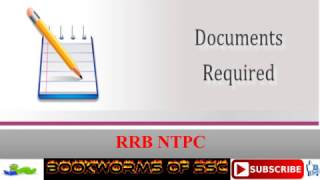 rrb ntpc document required after result