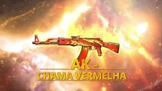 Arma Royale: AK CHAMA VERMELHA | FREE FIRE