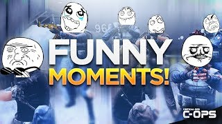 The Funniest & Most Random Critical Ops Moments! C-OPS Funny Montage