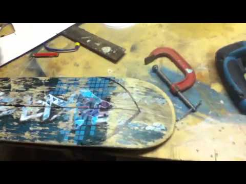 What to do with an old skateboard