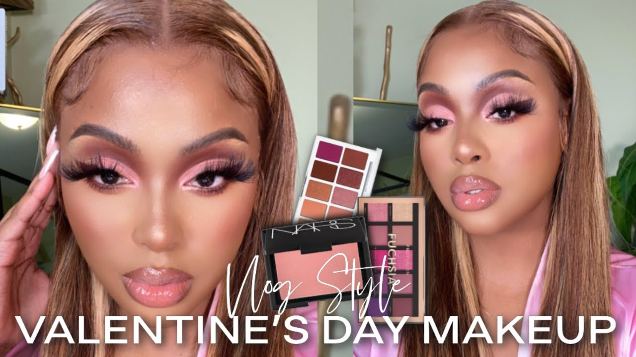 GRWM: Pink Valentines Day Makeup Tutorial + $5 Eyeshadow Palette You Never Knew You Needed | Gifts?!