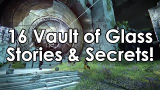 Destiny: 16 Behind The Scenes Facts/Stories About The Vault of Glass!