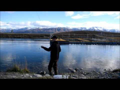 How to soft bait the Twizel Canals with Dylan Booth from FishingForeverFilms