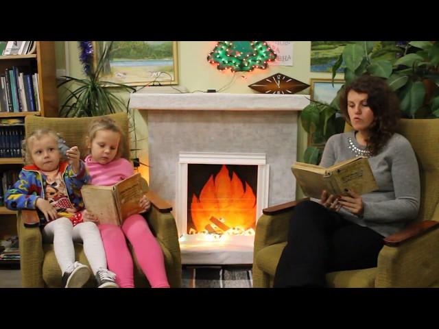 Изображение предпросмотра прочтения – «Краснополянская городская библиотека-филиал» читают произведение «Сказка о глупом мышонке» С.Я.Маршака