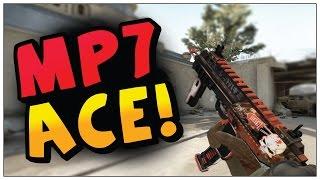 CS:GO-MP7 ACE!!!!!! |FRAG MOVIE| 60FPS
