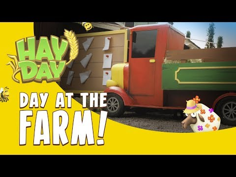 Hay Day: Day at the Farm!