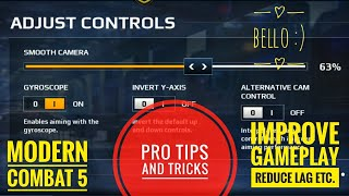 Modern Combat 5 | Tips and Tricks to improve gameplay,  MUST WATCH