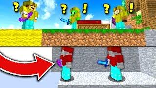 BEST MINECRAFT BED WARS TROLL! (Minecraft Trolling)