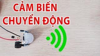 Alarm circuit using PIR motion sensor