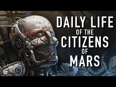 Daily Life of the Citizens of Mars Warhammer 40K Skitarii